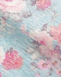 Polyester Cotton Spandex - Printed Jacquard Fabric