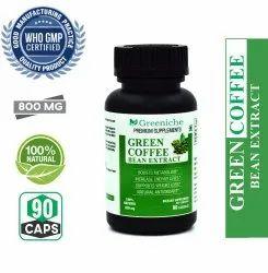 Greeniche Green Coffee Bean Extract 800mg 50 Cga For Weight Loss