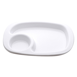 Polycarbonate Snacks Plate