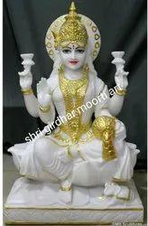 Marble Laxmi Mata Idol