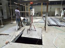 RCC Slab Cutting Service