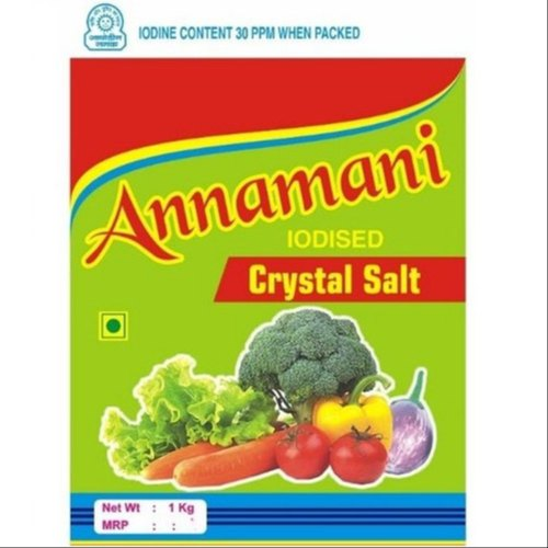 Annamani Iodized White Crystal Salt