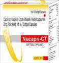 Calcitriol Calcium Citrate Maleate Methylcobalamin Zinc Capsules Folic Acid Vitamin K2-7 Softgel Cap