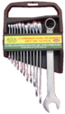 COMBINATION SPANNER SET COLD STAMP CRV STEEL
