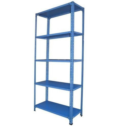 Iron Steel Slotted Angle Rack, for Office