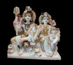 Marble Lord Shiv Parivar