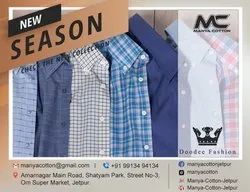 Cotton Men check shirts