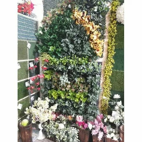 Green PVC Vertical Decorative Garden