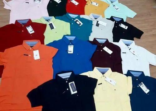 Men Plain Polo T Shirts