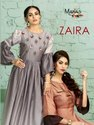 Textile Mall Presents Manas Creation Zaira Designer Kurti Catalog Collection