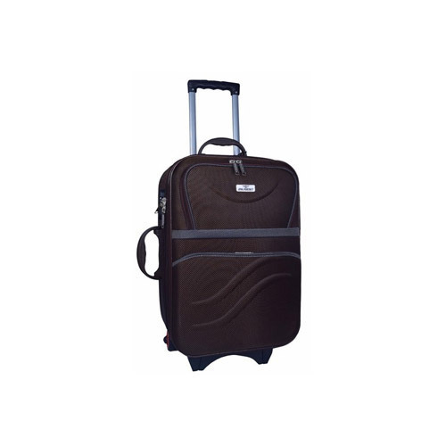 215c69284d0 Diligent Brown 20 Inch Trolley Bag