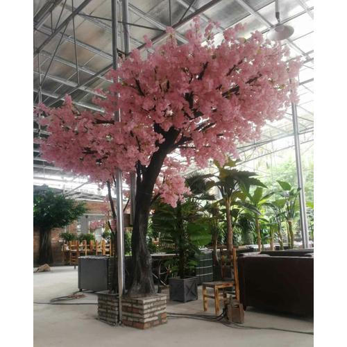 For Events Decoration Pink Artificial Sakura Tree For Decoration