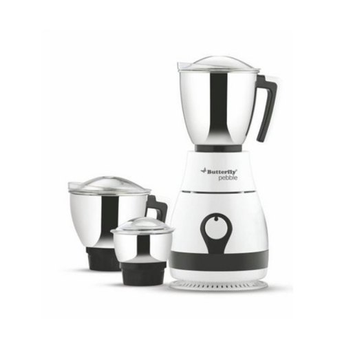 Butterfly 230V AC Pebble Mixer Grinder, Wattage: 600W