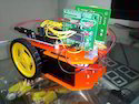 Guesture Control Robot