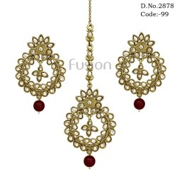 Traditional Earring & Tikka Set