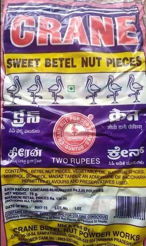 Crane Betel Nut and Rmd Pan Masala Wholesaler | S L V, Bengaluru