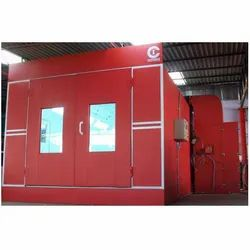 Prep Station Paint Booth