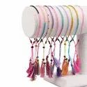 Multicolor Cord Bracelet Jewelry Friendship Bands Seed Beads Adjustable Bracelets