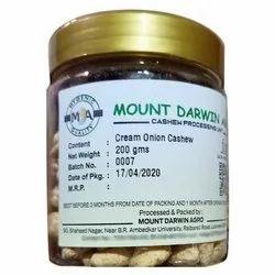Cream Onion Flavored Cashew Nuts