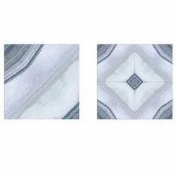 Ceramic Glossy 19 Mm Floor Vitrified Tiles, For Home, Square