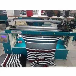 Semi-Computerized Flat Knitting Machine