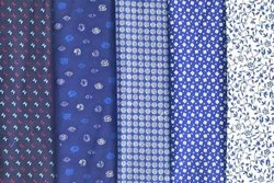 Cotton Discharge Print Shirting Fabrics
