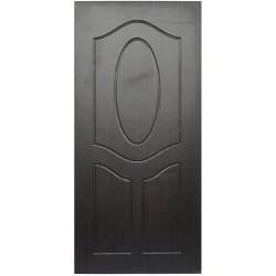 Interior Teak Wood Laminated Membrane Wooden Door, For Home