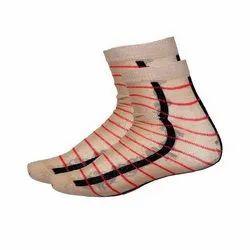 Cotton Mens Striped Socks