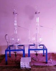 All Glass Double Distillation Unit Cap. 10000 ml