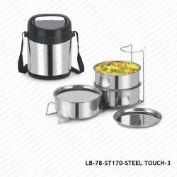 Steel Insulated Lunch Box-LB-78