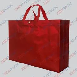 Red Reusable Shopping Bag