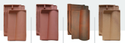 Imported Clay Roof Tiles