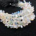AAA Ethiopian Opal Smooth Pear Beads Strand