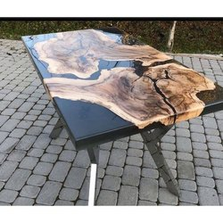 Golden Ratios Wood River Wooden Table