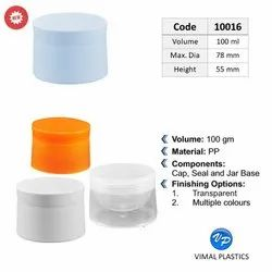 Tapered Round Double Layer Jar
