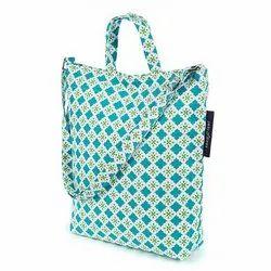 Cotton Printed Ladies Handbag