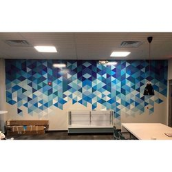 PVC Printed Wall Graphics, For Office, Home