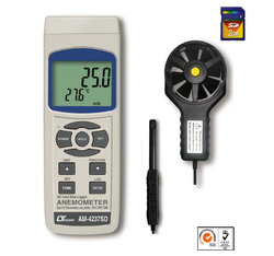 Lutron AM-4237SD Anemometer With Real Time Data Recorder