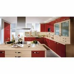 G Shape Modular Kitchen