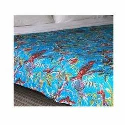 Kantha Quilted Bed Cover