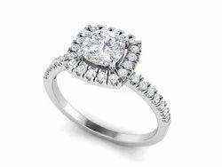 925 Sterling Silver Plating Wedding Ring