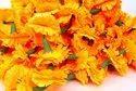 Artificial Cloth Marigold Flower Garlands