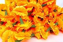 Artificial Cloth Marigold Flower Garlands