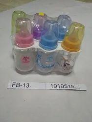 Plastic Baby Water & Feeding Bottle