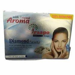 Raapo Diamond Facial Kit, For Sparkling Glow