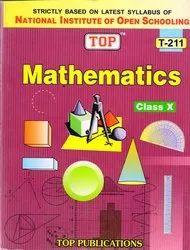Nios Guide Books - Nios 10th Class Maths (211) Exam Book in English Medium