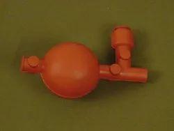 CHE-125 Rubber Pipette Filler Bulb 3 Valves