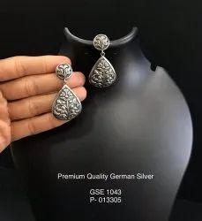 Women Casual Silver Lookalike Earrings, 20 Grams