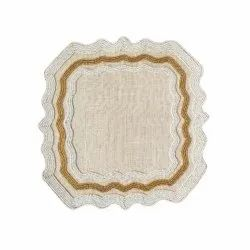 WHITE FANCY BEEDS PLACEMATS