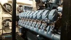 Diesel 2200 Kw MTU 12V4000/20V4000 Power Generator